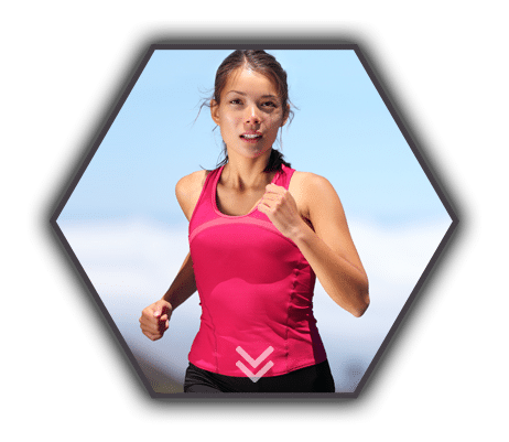 Treatment Results Active Lifestyle Girl Running